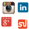 Linkedin shares Google plus instagram followers